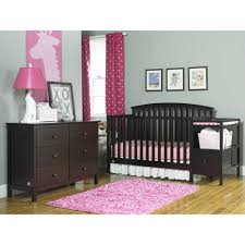 Convertible Cribs With Changing Table by Fisher Price Huntington Crib N Changer Gray Walmart Com