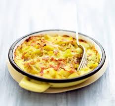 poireaux cuisiner recette gratin de poireaux au curry