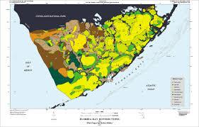 Everglades Florida Map by Sofia Ofr 97 526 Florida Bay Bottom Types