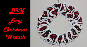 how to crochet for beginners 8 easy christmas wreath youtube