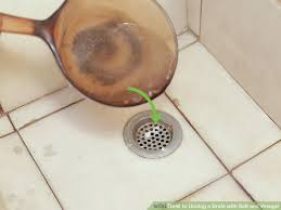 baking soda and vinegar clogged sink 3 ways to unclog a drain with salt and vinegar wikihow