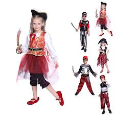 boys girls kids pirate costume book week halloween cosplay fancy