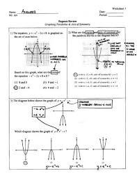 graphing parabolas u0026 axis of symmetry 1