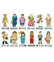 country clipart different culture pencil and in color country