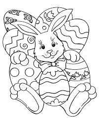 printable easter rabbit coloring coloringpagebook