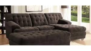 furniture elegant leather cheap sectional sofas in dark brown