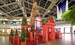 Commercial Christmas Display Decorations by Commercial Property Seasonal Holiday Decor Shopping Centers