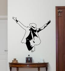 michael wall decal moonwalker poster print king pop