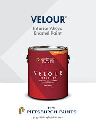 home interiors products ppg pittsburgh paints velour interior alkyd paint