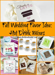 Halloween Wedding Favor Ideas by Drink Mixes Wedding Favors A Bride On A Budget