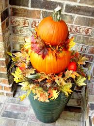 pumpkin topiary home staging fall decorating idea pumpkin topiaries home