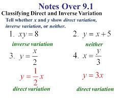direct variation equations ppt video online download