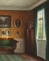 sunlit drawing room