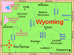 map of wyoming wyoming facts map and state symbols enchantedlearning