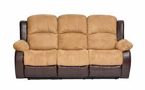 Armchair Sofa Beds Ben Traditional 2 Tone Recliner Chair Sofa Sofamania Com