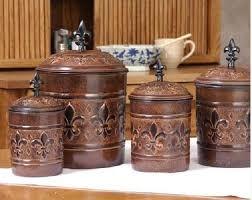 fleur de lis canisters for the kitchen fleur de lis canister sets home furniture design kitchenagenda com