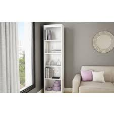 Purple Bookcase South Shore Smart Basics 5 Shelf 68 3 4