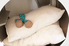 How To Wash A Comforter How To Rescue Your Old Yellowed Pillows One Good Thing By Jillee