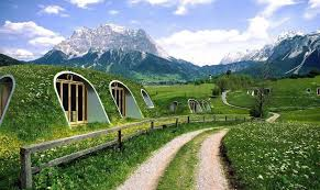 green homes here s the dirt on a prefabricated plastic earth sheltered home