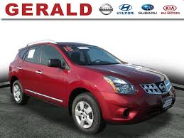 nissan rogue windshield wipers used nissan rogue select s awd 2015 gerald nissan north aurora