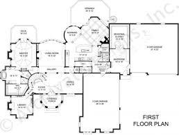 Three Car Garage House Plans Saint Augustine European House Plan Luxury House Plan