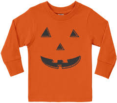 toddler boy halloween shirts threadrock tees for adults and kids halloween pumpkin face