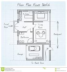 floor plan house sketch stock vector image of bedroom 52483697 royalty free vector download floor plan house sketch