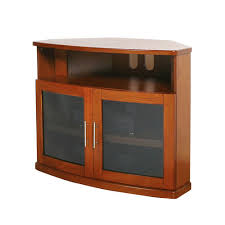 tv stands and cabinets plateau newport walnut 40 inch corner tv cabinet corner tv corner