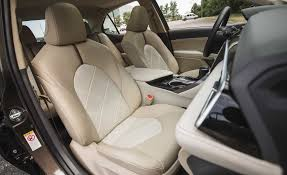 2018 toyota camry hybrid xle interior seats front gallery photo