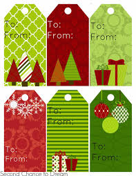 free printable gift tags gift card holders second chance to