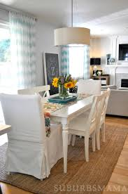 suburbs mama dining room updates new table