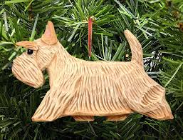 scottish terrier ornament wheaten
