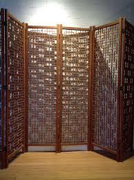 6 panel room divider stunning 6 panel danish teak screen for sale at 1stdibs
