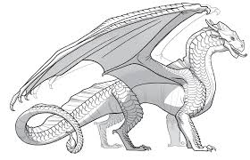 wings fire coloring pages
