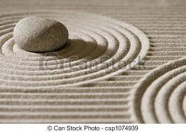 mini zen garden stone on raked sand mini rock garden zen