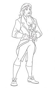 walt disney coloring pages prince adam walt disney characters