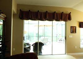 Sliding Glass Door Curtains Decoration Window Treatments For Sliding Glass Door Covering