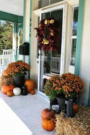 stylist inspiration fall decorating outside your house decorations