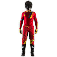motocross action figures new seven mx gear set zero league red dirt bike motocross pants