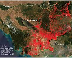 Map Of Cambodia Vietnam Cambodia Bombing Zfacts