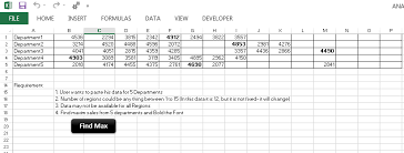 finding last used column with data in particular row in excel vba