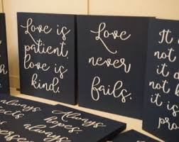 1 corinthians 13 wedding set of 10 wedding aisle signs 1 corinthians 13 wedding signs