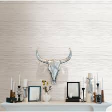 Peal And Stick Wall Paper Nuwallpaper Off White Shiplap Peel And Stick Wallpaper Nu2187