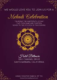 mehndi invitation wording mehndi invitation sles