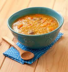cuisiner lentille soupe au potimarron lentilles corail et marrons les meilleures