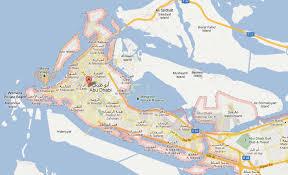 map of abu dabi abu dhabi information