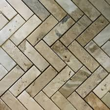 1 x 3 herringbone mosaic tile autumn onyx honed wall floor tile