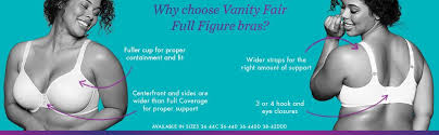 Vanity Fair Beautiful Benefits 76380 Vanity Fair Women U0027s Beauty Back Full Figure Underwire Bra 76380 At