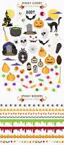 halloween borders clipart avenie digital