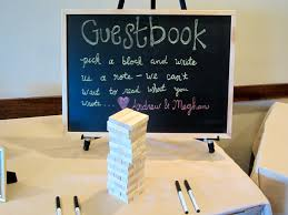 Engagement Party Ideas Pinterest by Jenga Guestbook Created By Me For My Engagement Party Marriage